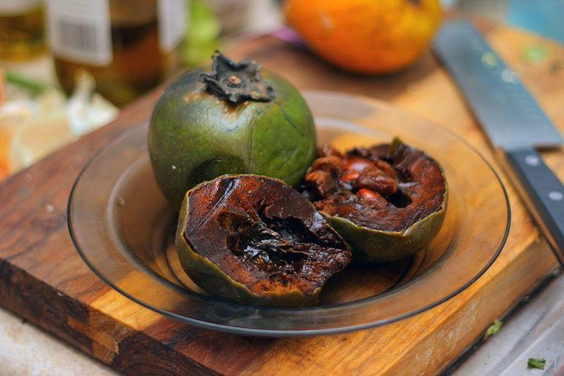 Chocolate Pudding Tree Fruit