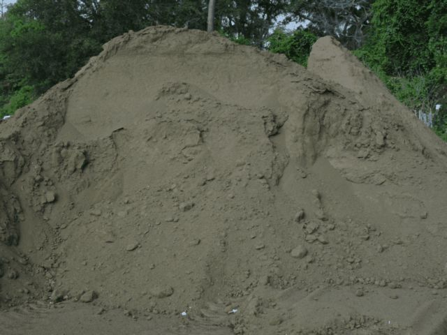greensand pile